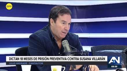 Julio Andrade dice que pago de S/ 7,000 de gestión de Villárán fue por aniversario de Lolo Fernández