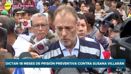 """Jorge Muñoz: """"No quiero ningún peaje manchado por la corrupción"""""""