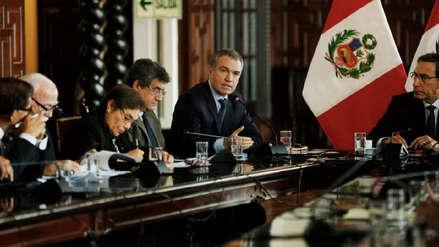 Del Solar: El Ejecutivo no está pidiendo al Congreso que apruebe la reforma política