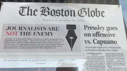 """Hombre confiesa que amenazaba periodistas de EE.UU. por considerarlos """"enemigos del pueblo"""""""