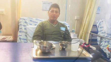 """Obrero herido en enfrentamiento con la Policía: """"Con un solo ojo ninguna empresa me va a contratar"""""""