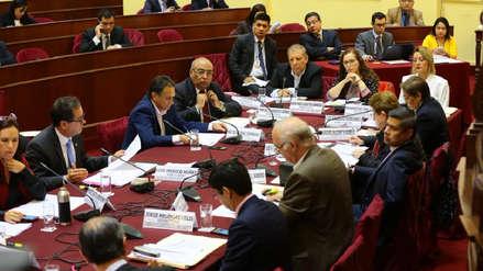 Comisión de Constitución archivó proyecto del Ejecutivo sobre inmunidad parlamentaria