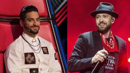 ¿Maluma y Justin Timberlake harán colaboración? Esto reveló el cantante colombiano