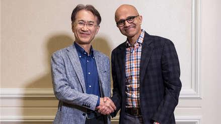 Sony y Microsoft se unen para impulsar los videojuegos en la nube y la inteligencia artificial