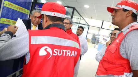Sutran clausuró cinco locales de empresas de transporte interprovincial en La Victoria