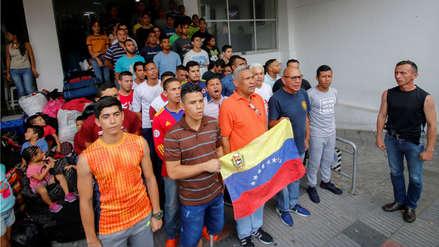 Más de 60 militares venezolanos desertores fueron desalojados de hotel en Cúcuta por no pagar estadía