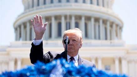 Donald Trump indultó a exmagnate de los medios de comunicación condenado por fraude