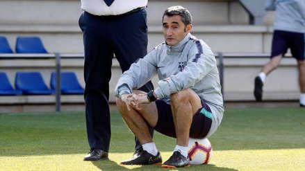 Barcelona tomó una decisión sobre la continuidad de Ernesto Valverde
