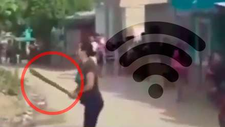 Machetes, piedras y hasta una embarazada herida: la batalla campal por la clave del Wi-Fi
