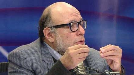 Falleció el excongresista Carlos Chipoco a los 64 años