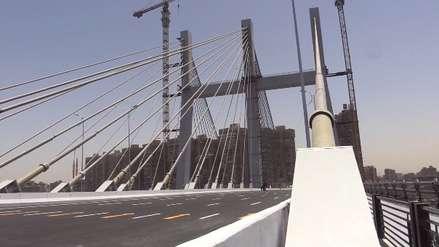 """""""Ha sido un trabajo enorme"""": Así es el puente más ancho del mundo que fue inaugurado en Egipto"""