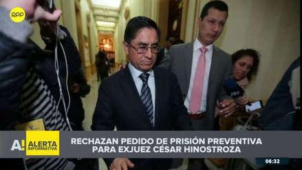 Justicia de España rechazó pedido de prisión provisional contra César Hinostroza