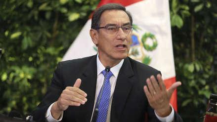 Vizcarra pide al Congreso evaluar proyectos de la reforma política