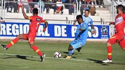 Binacional cayó a manos de Sport Huancayo y perdió su invicto en Juliaca en la Liga 1 Movistar