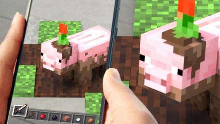 Como Pokémon GO: Minecraft anuncia un juego de celulares con realidad aumentada