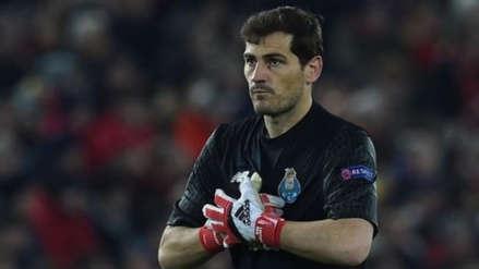 Iker Casillas se pronunció sobre su posible retiro del fútbol