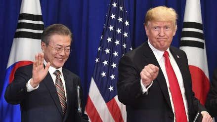 Donald Trump se reunirá con Moon Jae-in a fines de junio para hablar sobre el desarme nuclear norcoreano