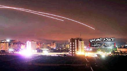 Defensa antiaérea de Siria derriba proyectiles de Israel contra Damasco