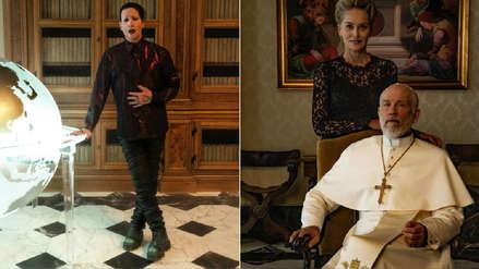 Publican las primeras imágenes de Sharon Stone y Marilyn Manson en la serie