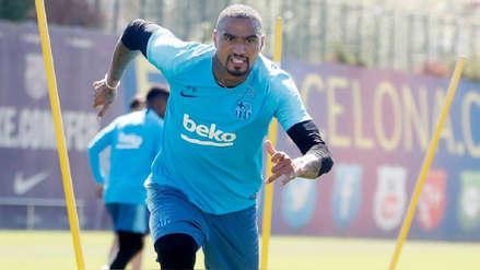 ¡Qué mala suerte! Kevin Prince Boateng se lesionó y perdió la chance de volver a jugar con Barcelona
