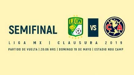 León vs. América EN VIVO: juegan hoy por la clasificación a la final del Clausura por la Liga MX | México