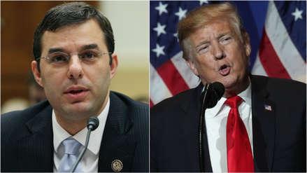 Un congresista republicano plantea por primera vez la destitución de Trump