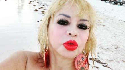 Susy Díaz: Así se grabó su divertida participación en el tráiler de