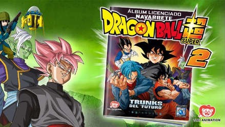 ¡Atención coleccionistas! El álbum oficial de Dragon Ball Super ya está a la venta en Perú