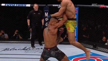 ¡Tremendo knock-out! El rodillazo con el que Michel Pereira durmió a Danny Roberts en UFC Fight Night 152