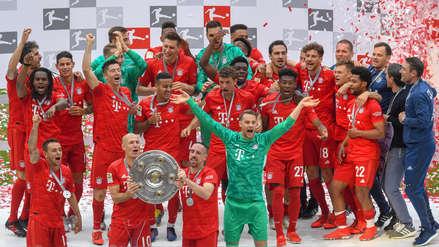 Bayern Munich ganó su séptimo título consecutivo en la Bundesliga en la despedida de Robben y Ribéry