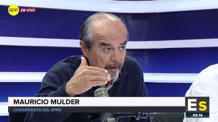 """Mauricio Mulder sobre la reforma política: """"Lo único que quiere Martín Vizcarra es popularidad"""""""