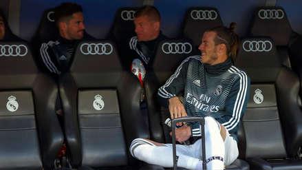 ¡Mientras el Real Madrid perdía! Gareth Bale ríe en el banquillo del Santiago Bernabéu