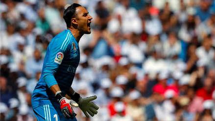 Real Madrid: Keylor Navas recibió un emocionante homenaje de los hinchas en el Bernabéu
