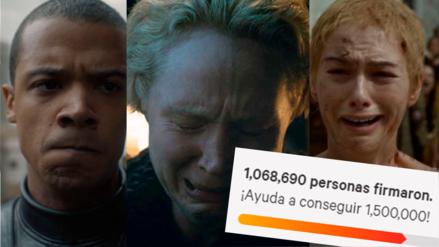 Game of Thrones | ¡Lo lograron! Un millón de fanáticos inconformes firman para rehacer la octava temporada