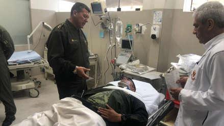 Comandante General del Ejército visitó a heridos en accidente de helicóptero en Amazonas