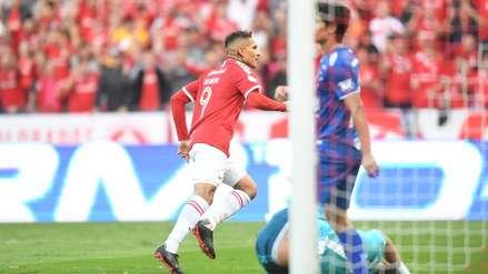 Con Paolo Guerrero, Internacional derrotó 2 a 0 al CSA por el Brasileirao