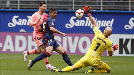 Barcelona empató 2-2 ante Éibar y cerró su participación en la Liga Santander