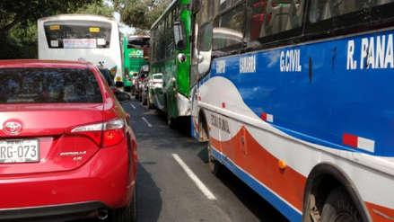 Tráfico vehicular y falta de desvíos: Así fue el cierre de avenidas principales por maratón 42k