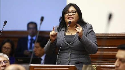 Presidenta de la Comisión de Ética cobró bono sin realizar actividades de representación