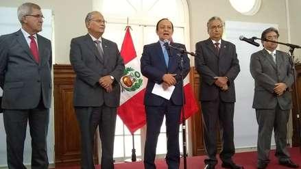 Junta Nacional de Justicia   Comisión Especial defiende examen y anuncia nuevo concurso público