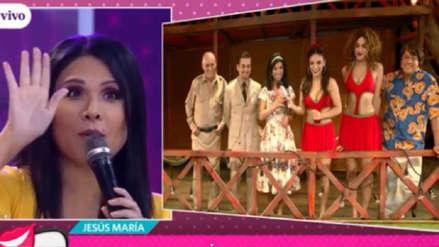 """Tula Rodríguez recordó así a su personaje en la película """"Pantaleón y las visitadoras"""""""