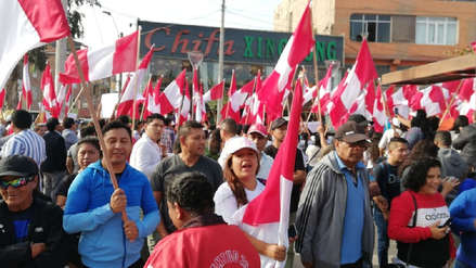 Vecinos y transportistas de Lima norte y sur marchan en contra de los peajes [VIDEO]