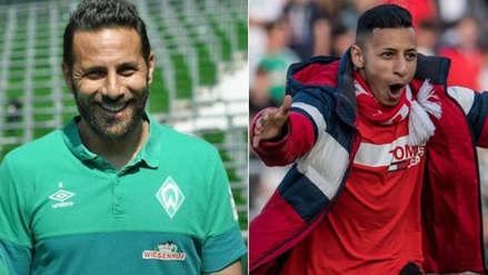 ¡Ídolo! Hincha sorprendió a Claudio Pizarro a pedirle un selfie en pleno partido
