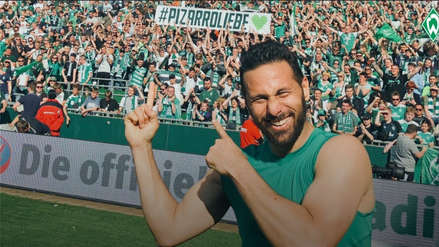 Claudio Pizarro: así reaccionaron los hinchas del Werder Bremen tras enterarse de su renovación