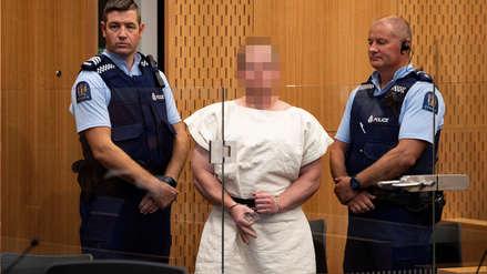 Atacante de mezquitas de Nueva Zelanda fue acusado de terrorismo