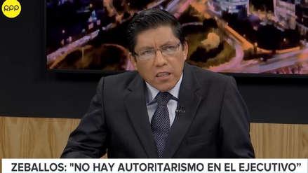 Vicente Zeballos: Hay una