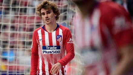 Antoine Griezmann anotó su último gol con la camiseta de Atlético de Madrid