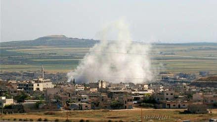 EE.UU. sospecha de nuevo ataque químico sirio y amenaza con represalias
