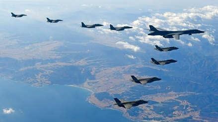 Cazas de EE.UU. interceptaron bombarderos rusos frente a la costa de Alaska