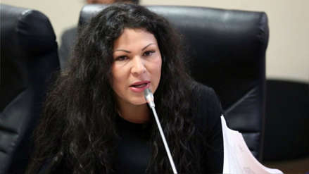 Ética aprobó informe que recomienda suspender por 60 días a Yesenia Ponce